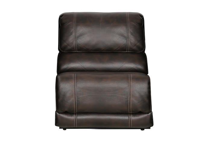 Armless recliner
