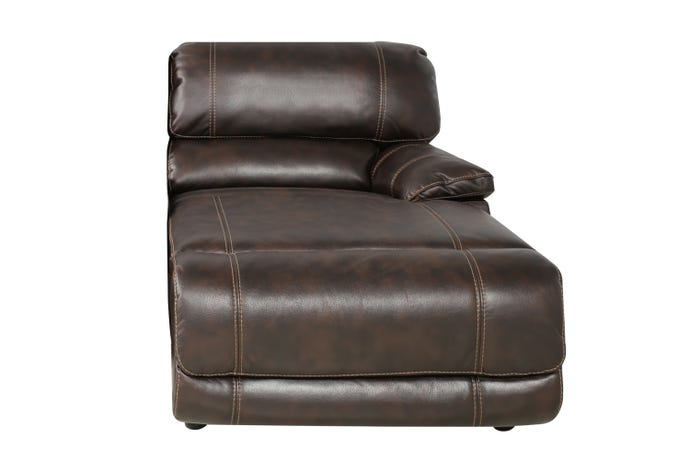 Right reclining lounge chair