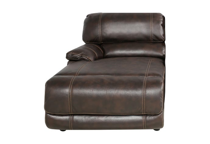Left reclining lounge chair