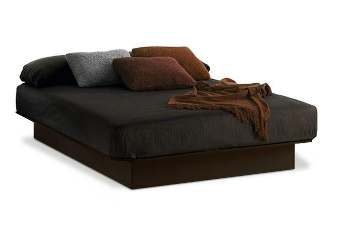 "54"" full platform bed"