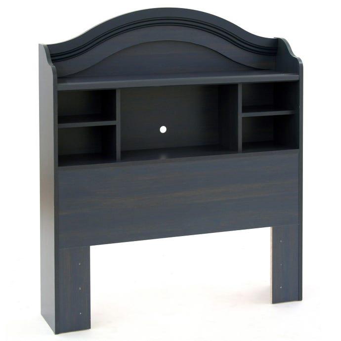 TWIN BOOKCASE HEADBOARD (39'')