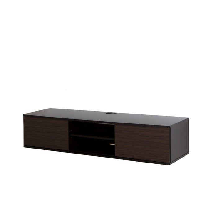 "56"" WIDE WALL MOUNTED MEDIA CONSOLE"