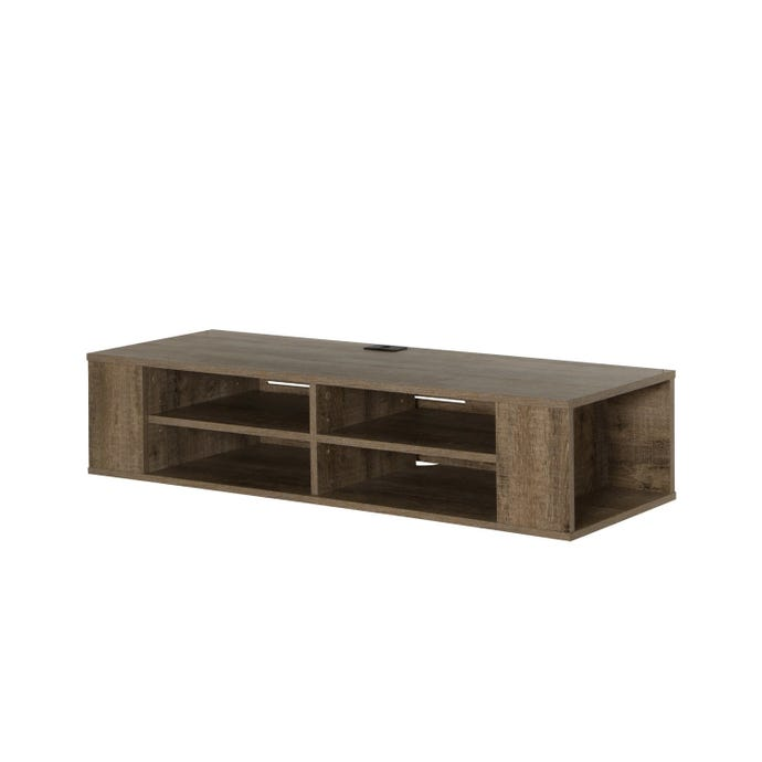 """48"""" WALL MOUNTED MEDIA CONSOLE"""