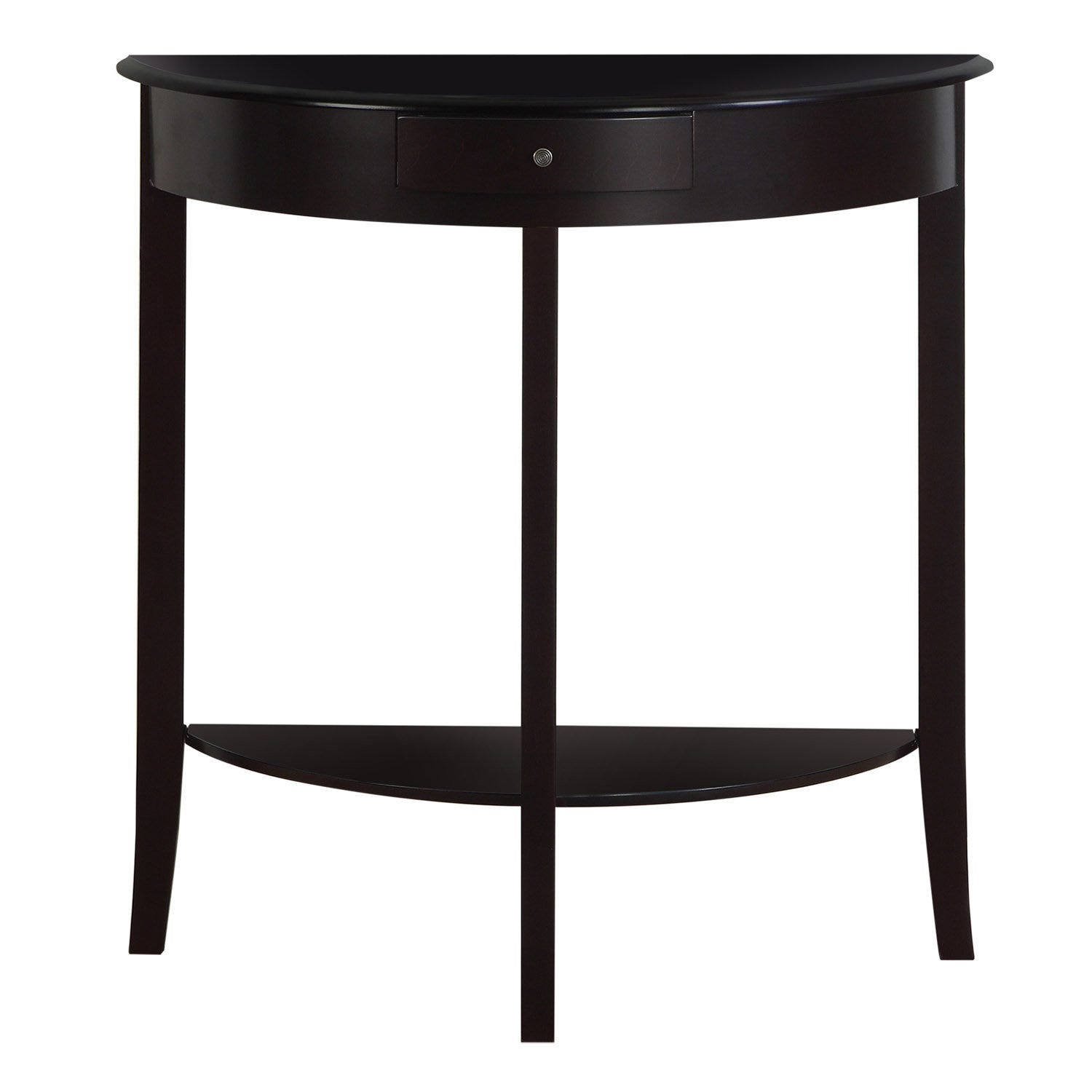Accent Table 31 L Dark Cherry Hall Console