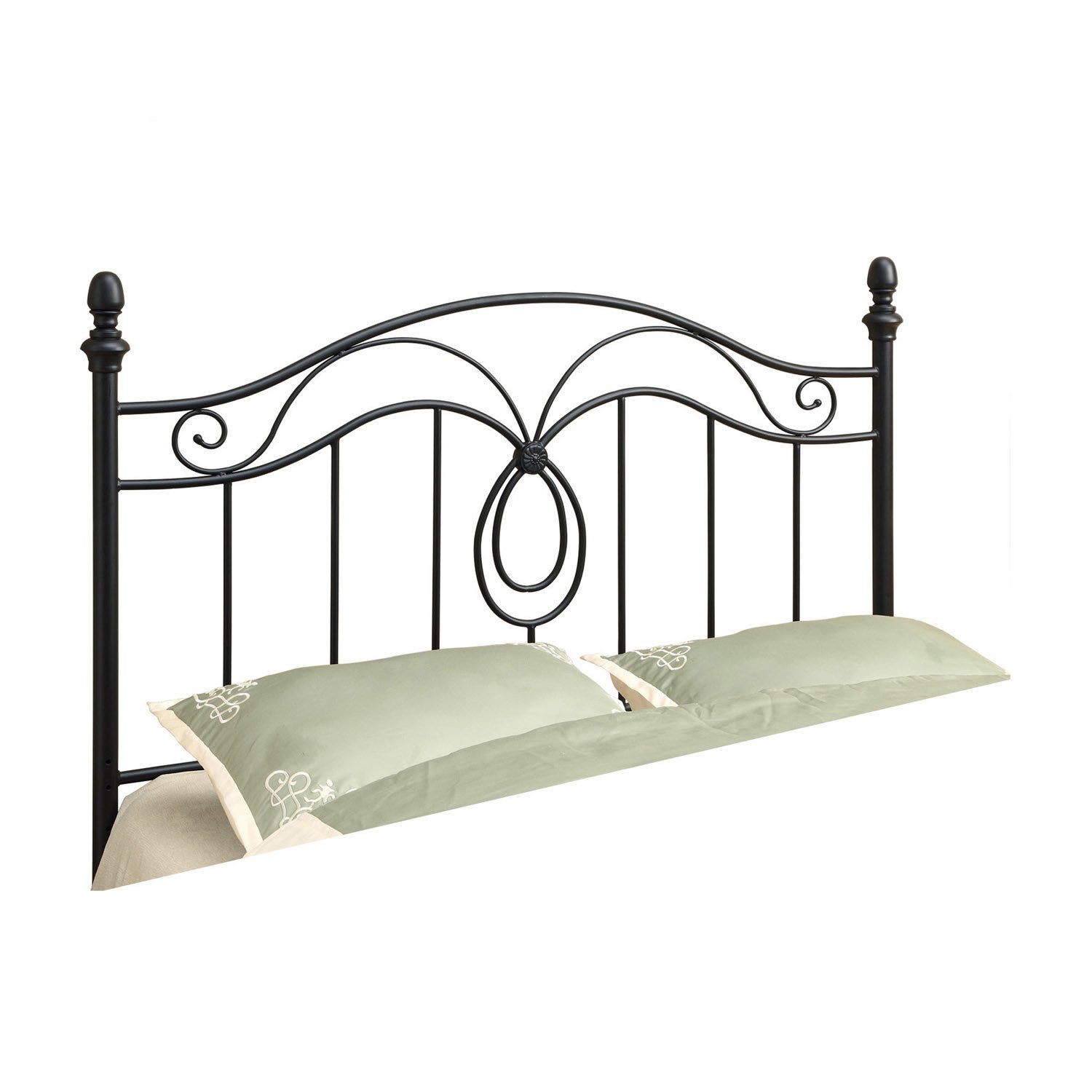 Bed Queen Or Full Size Black Headboard Or Footboard Rd Furniture