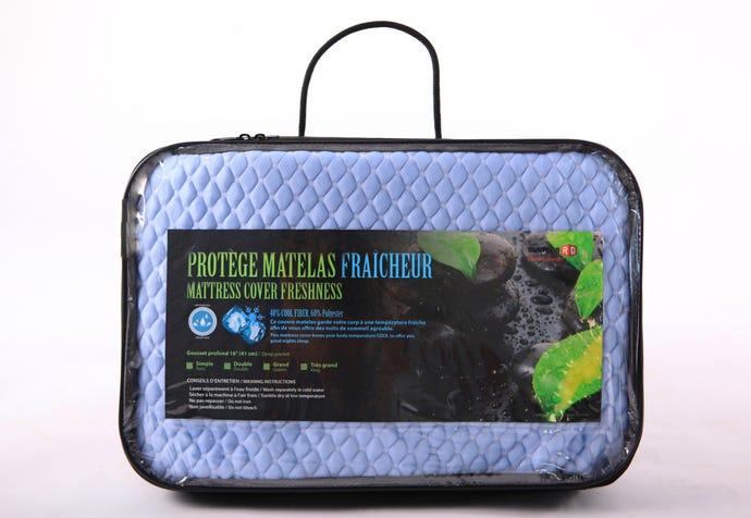 "Protège matelas fraicheur 54"""
