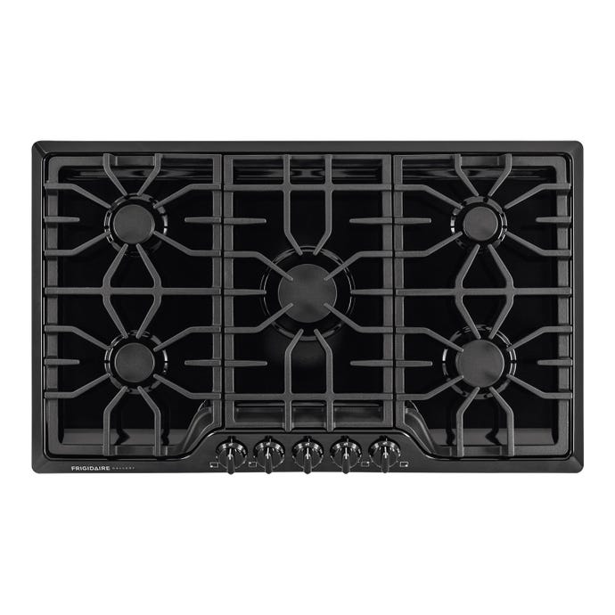 37 in gas cooktop