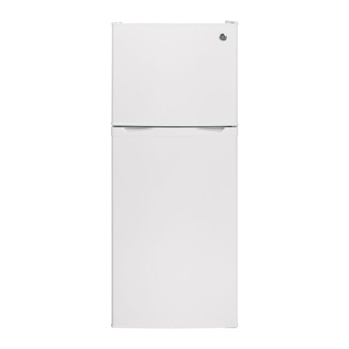 GE 11,6 cu ft 24 In refrigerator White Top Freezer - GPE12FGKWW