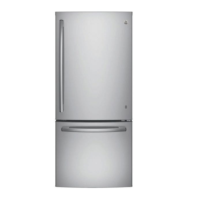 GE 20,9 cu ft 30 In refrigerator StaInless Bottom Freezer - GDE21DSKSS