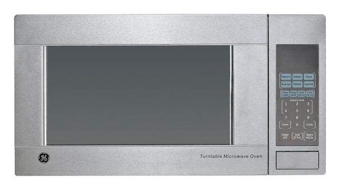 GE 1,1 cu ft microwave StaInless 1100 21.5'' JES1140STC