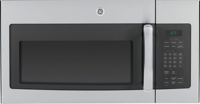 GE 1,6 cu ft microwave/Range Hood, StaInless, 30'', 1000 W, 300 pi3/mIn - JVM1635SFC