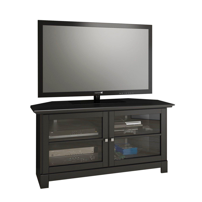 Meuble Tv En Coin meuble audio video coin 49''