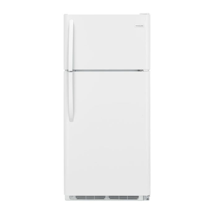 FRIGIDAIRE 30 in 18,1 cu ft refrigerator White Top Freezer - FFTR1814TW