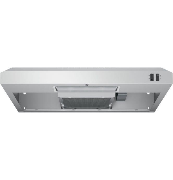 GE Range Hood Standard StaInless 30'' 200 PI3/MIn  W - JVX3300SJSSC