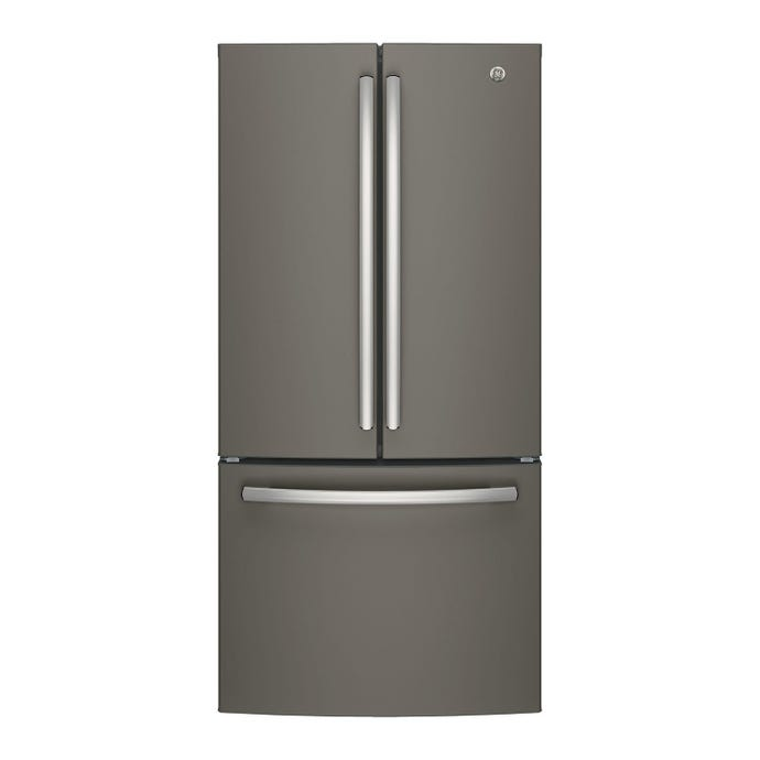 GE 18,6 cu ft 33 In refrigerator Slate Bottom Freezer - GWE19JMLES