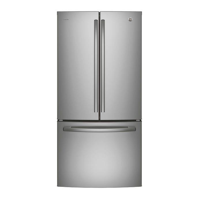 GE 24,8 cu ft 33 In refrigerator StaInless Bottom Freezer - PNE25NSLKSS