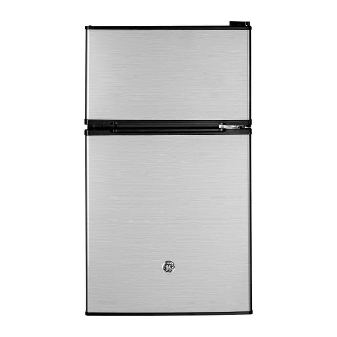 GE 3,1 cu ft 19 In Refrigerator StaInless Compact - GDE03GLKLB
