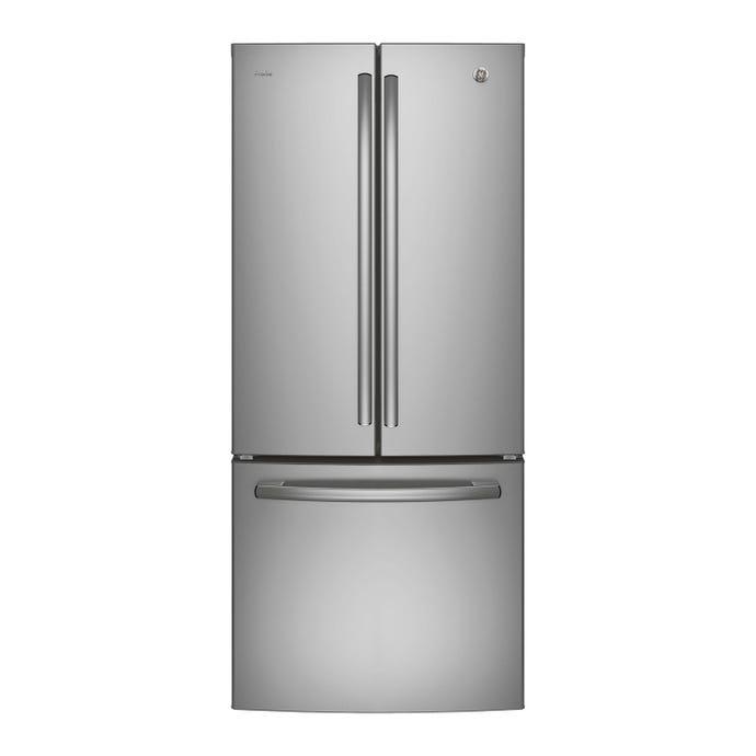 GE 20,8 cu ft 30 In refrigerator StaInless Bottom Freezer, French door - PNE21NSLKSS