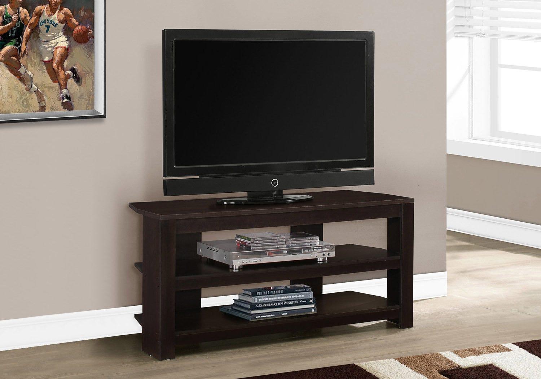 """Meuble Tv En Coin meuble tv - 42""""l / en coin cappuccino"""