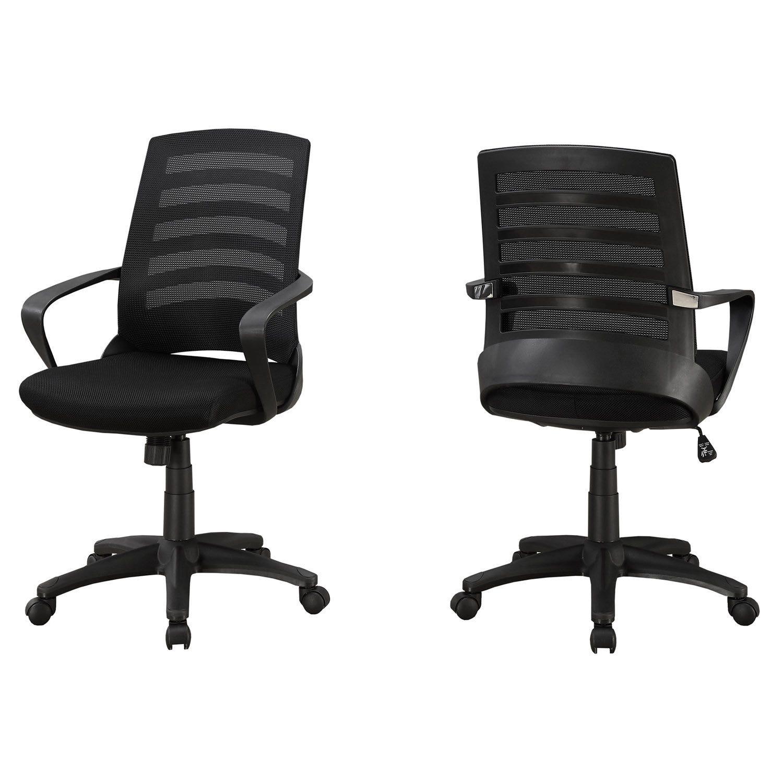 multiple meche position noir noir Chaise de bureau ARj35L4