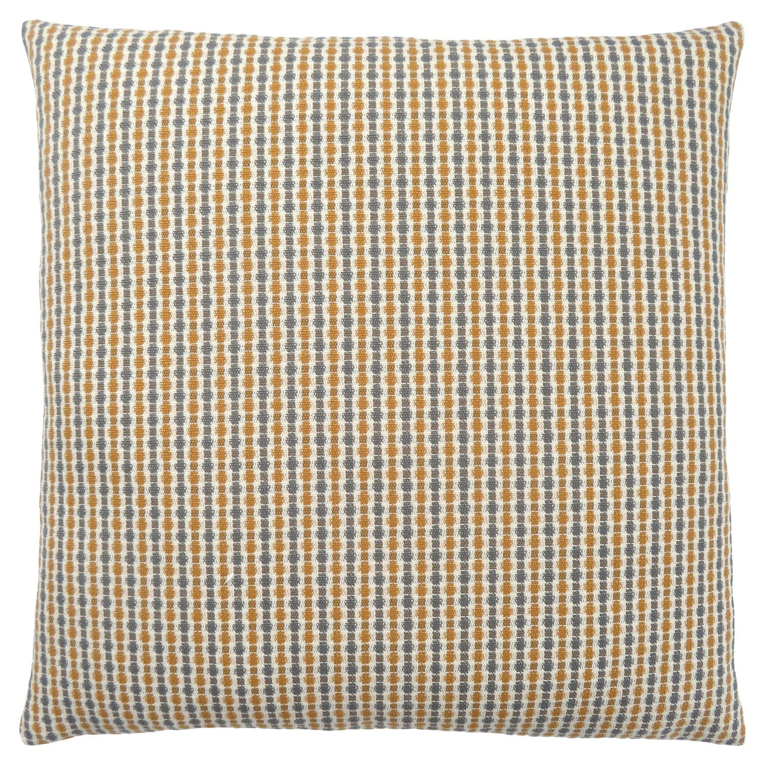 Pillow 18 X 18 Gold Grey Abstract Dot 1pc