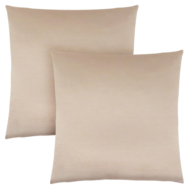 Pillow 18 X 18 Gold Satin 2pcs