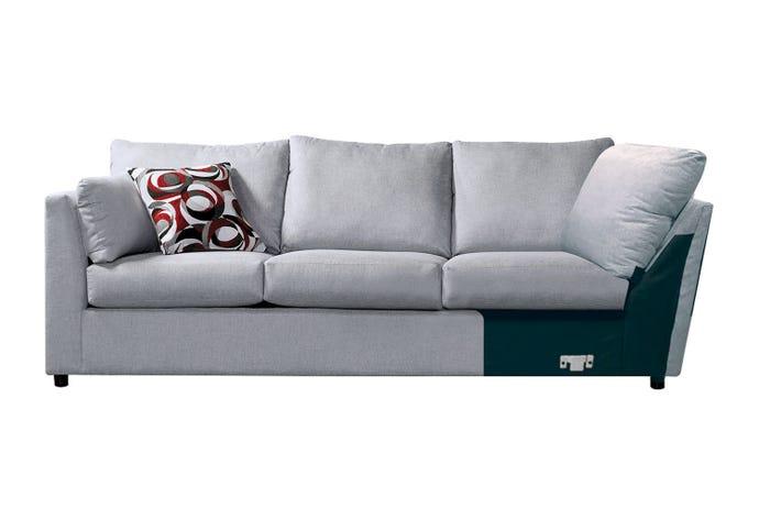 Left facing sofa w/corner