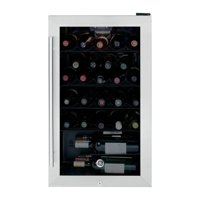 GE 4,1 cu ft WIne cooler StaInless 19'' - GWS04HAESS