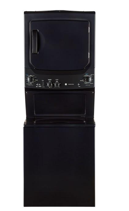 GE Spacemaker washer dryer, Grey, 27'', Top-Load - GUD37ESMMDG