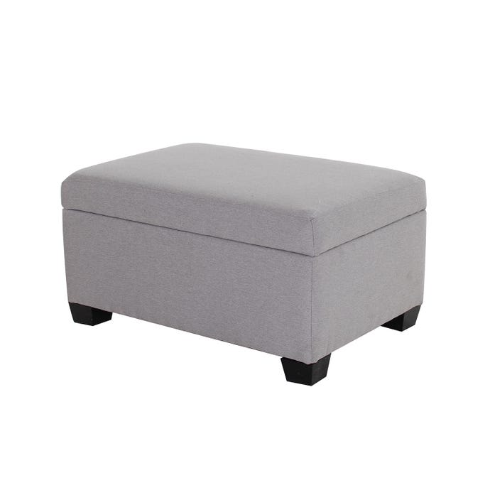Ottoman Rectangular With Wood Rd Furniture