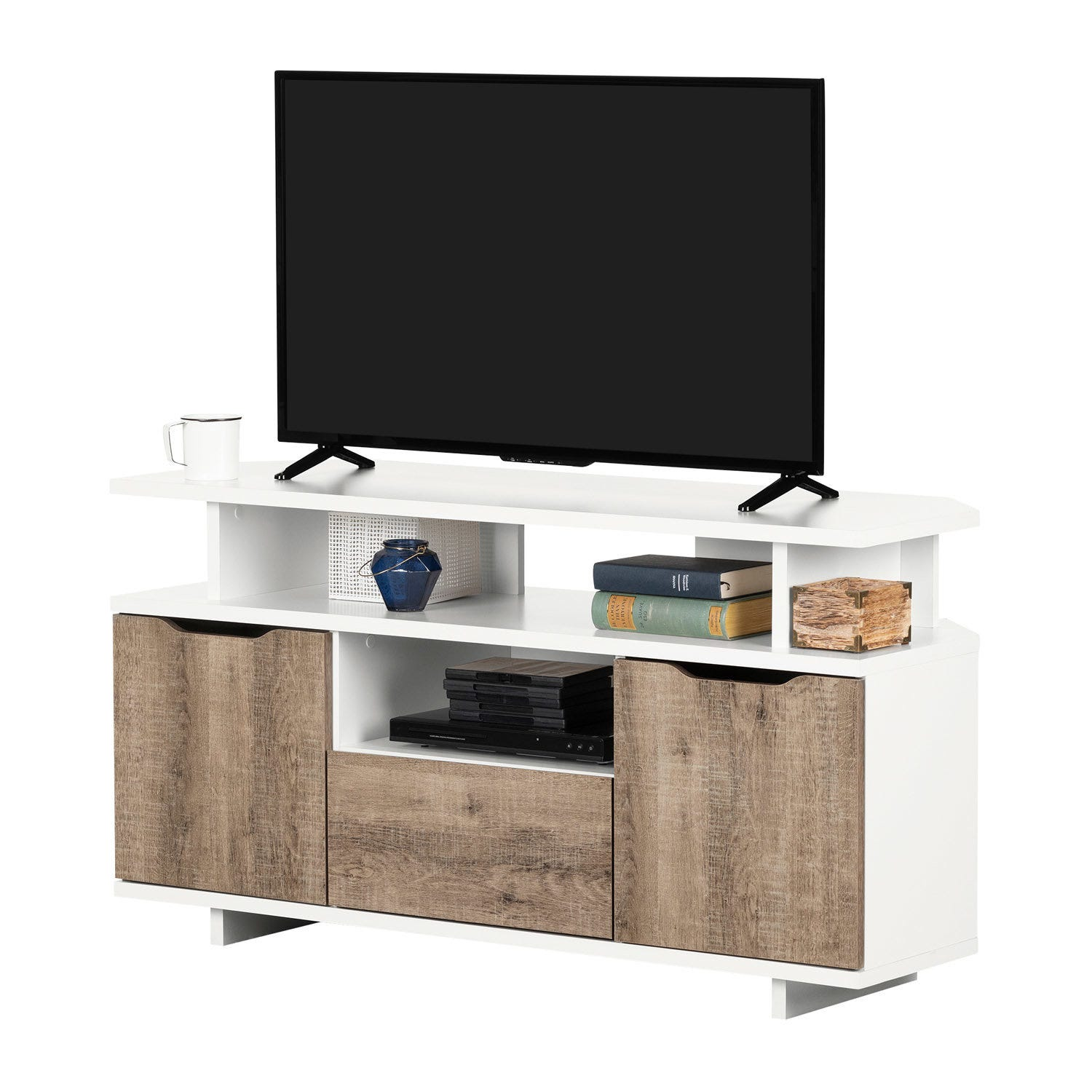 Meubles South Shore Corner Tv Stand For Tvs Up To 55 Rd Furniture