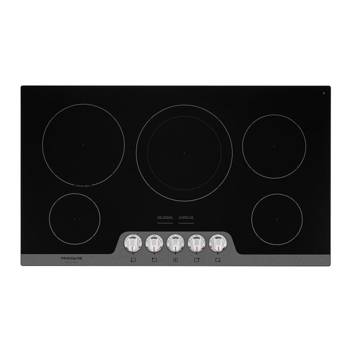 FRIGIDAIRE GALLERY 36' po Cooktop Glass-Ceramic Stainless 30.5'' Électrique   Stainless - FGEC3648US