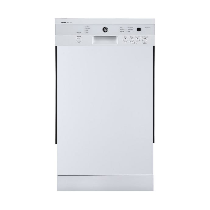 GE 18 In dishwasher Built-In White 18'' 52dB - GBF180SGMWW