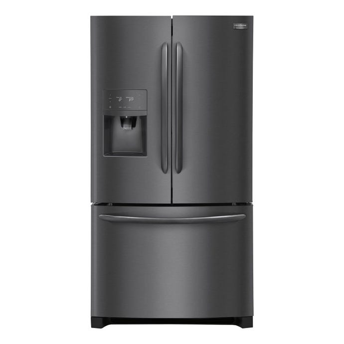 FRIGIDAIRE GALLERY 36 in 27,2 ft cu refrigerator Black Stainless Bottom Freezer, French door - FGHB2868TD