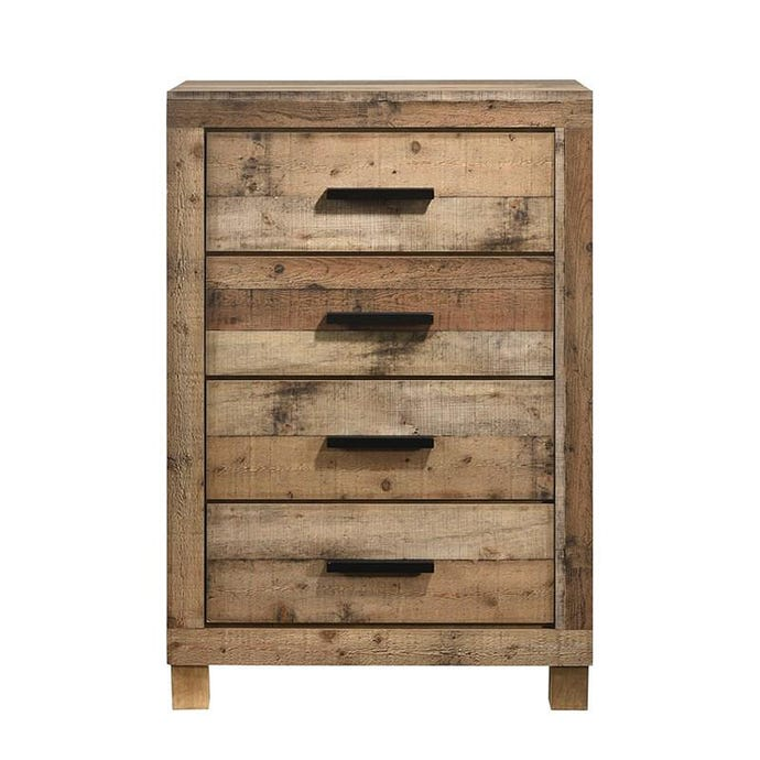 4-Drawer Tall Chest