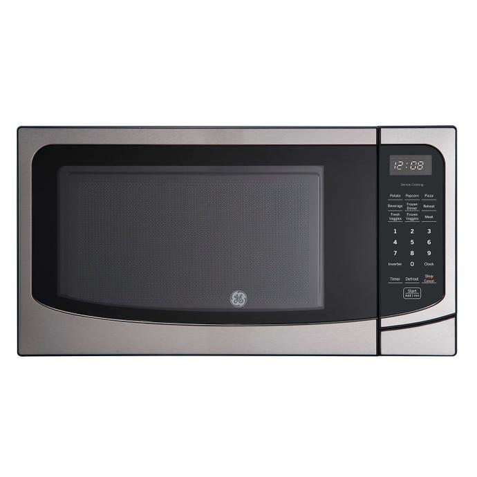 GE 1,6 cu ft microwave StaInless  21.75'' JEB2167RMSS