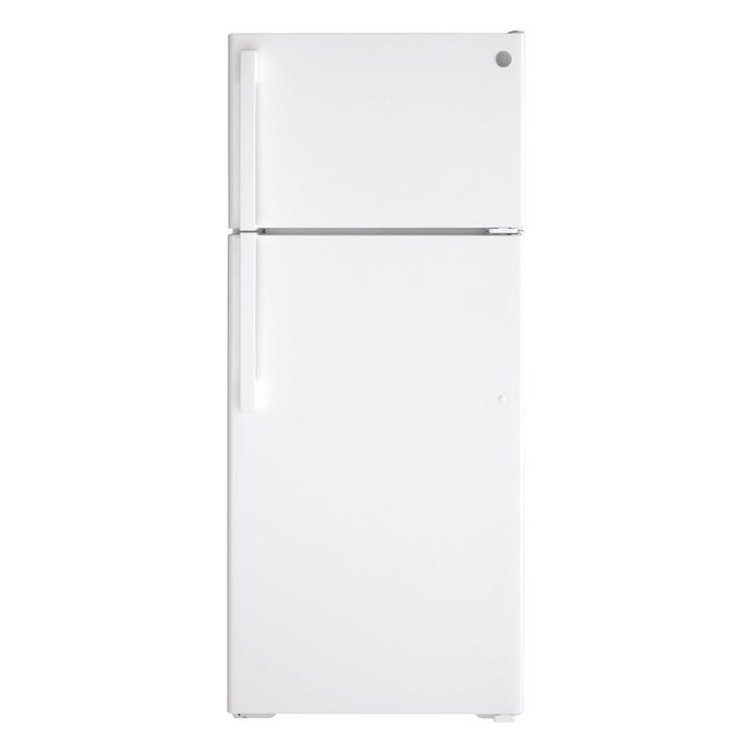 GE 28 In 17,5 cu ft refrigerator White Top Freezer - GTE18DTNRWW