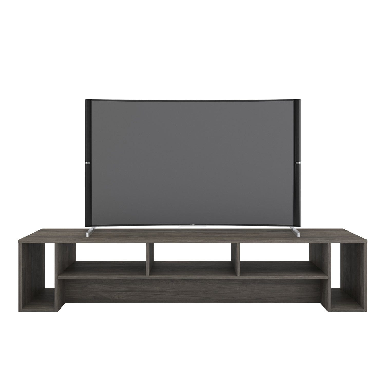 Nexera 12 meuble audio vidéo rustik, 12 po, gris écorce