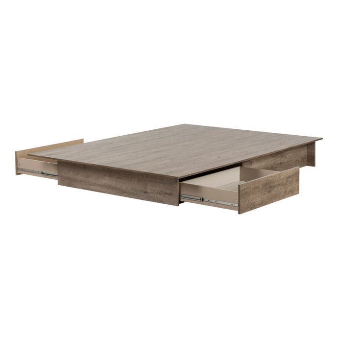 Platform Bed With Drawers Rd Furniture