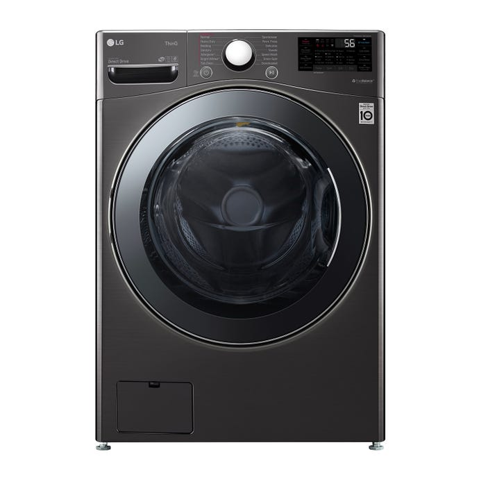 LG All-In-One Washer/Dryer, Black stainless, 27'', Front-Load, 1300 - WM3998HBA