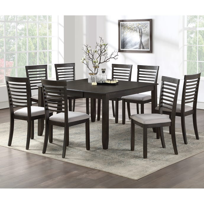 Square Table with 8 chairs