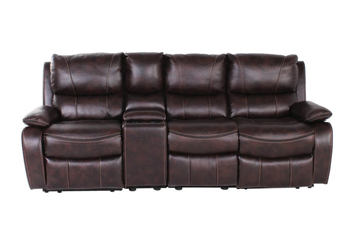 4-Piece Reclining Sofa with console