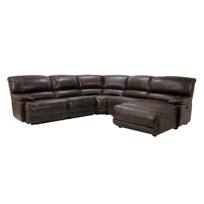 5-Piece Reclining Sectional - Right-Hand Side Lounger