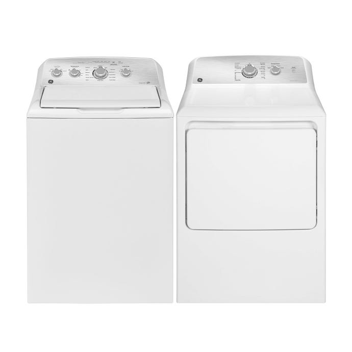GE Washer and dryer set, White